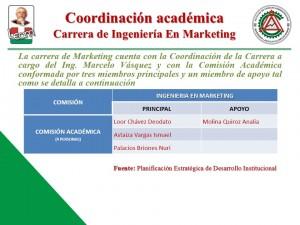 Coordinacion Academica Ingeniería en Marketing