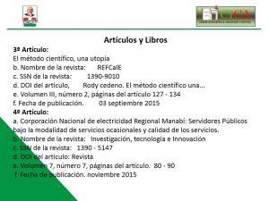 Articulos y Libros 2