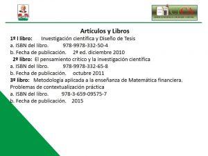 Articulos y Libros 3