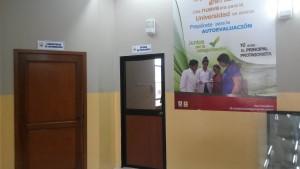 EXTERIORES DE LABORATORIO DE COMPUTACION Y OFICINA DE PROFESORES