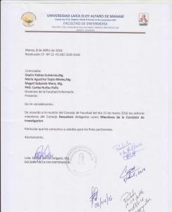 COMISION DE INVESTIGACION