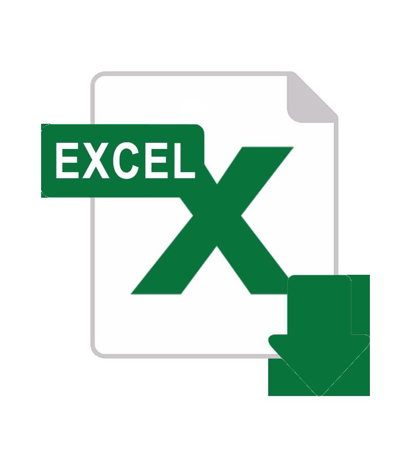 Descarga en Excel