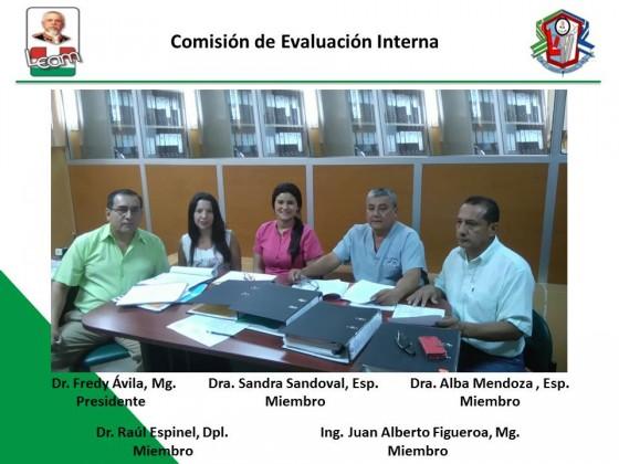 Miembros de Evaluacion Interna