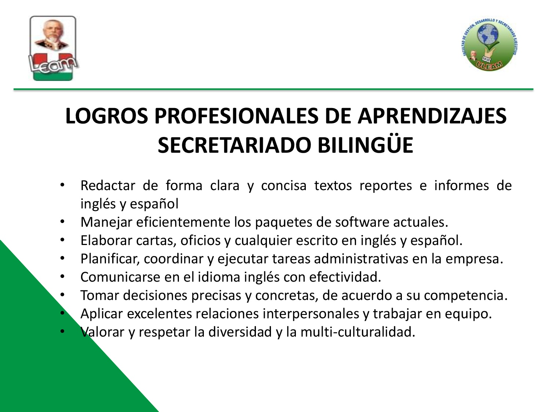 LOGROS PROFESIONALES DE APRENDIZAJE_SB